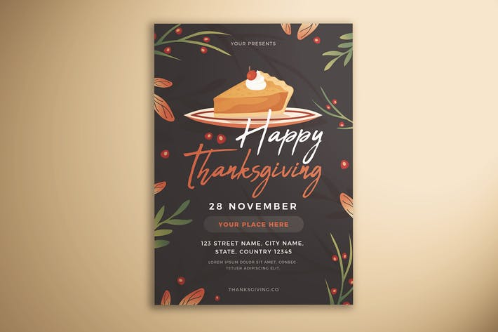 Thumbnail for Happy Thanksgiving Flyer