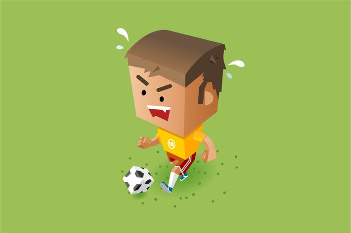 Thumbnail for Kid playing soccer