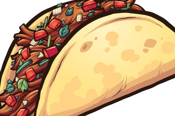 Thumbnail for Cartoon Taco