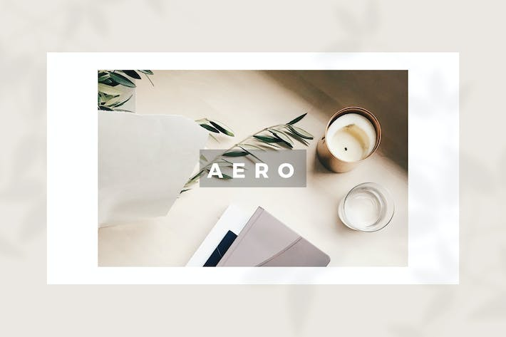 Thumbnail for Aero | Keynote Templates