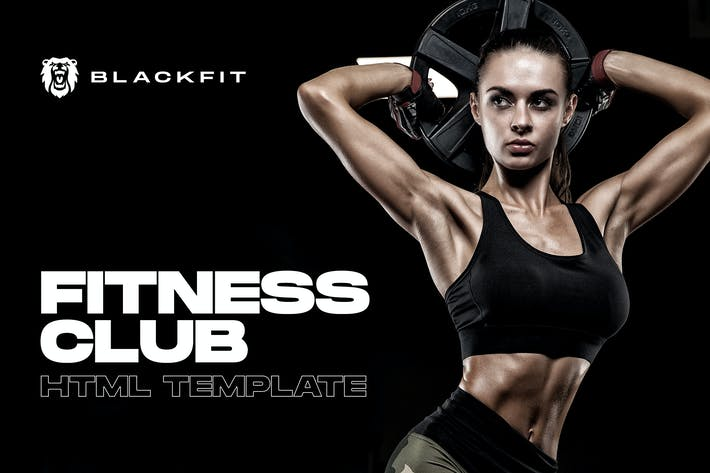 Blackfit - Fitness Gym Club Website Template
