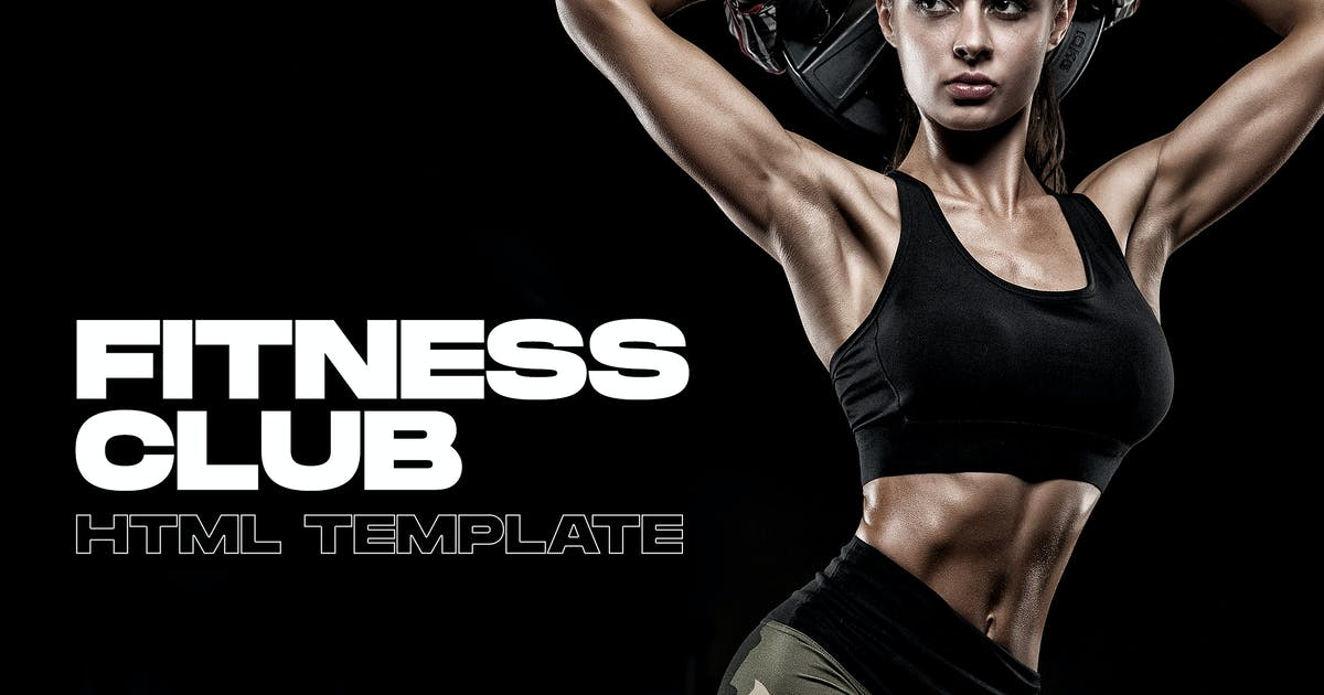Download Blackfit - Fitness Gym Club Website Template by Kadirov