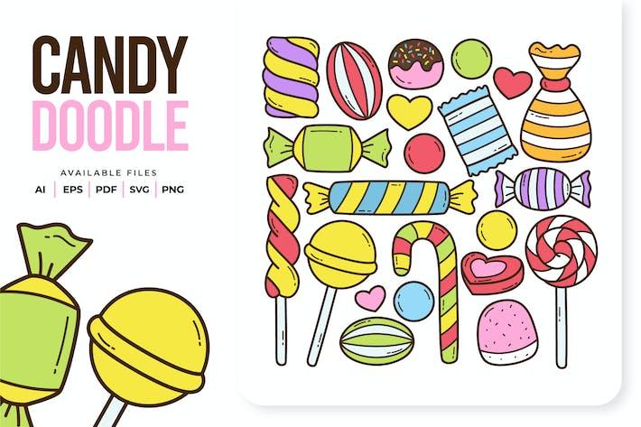 Bonbons Doodle