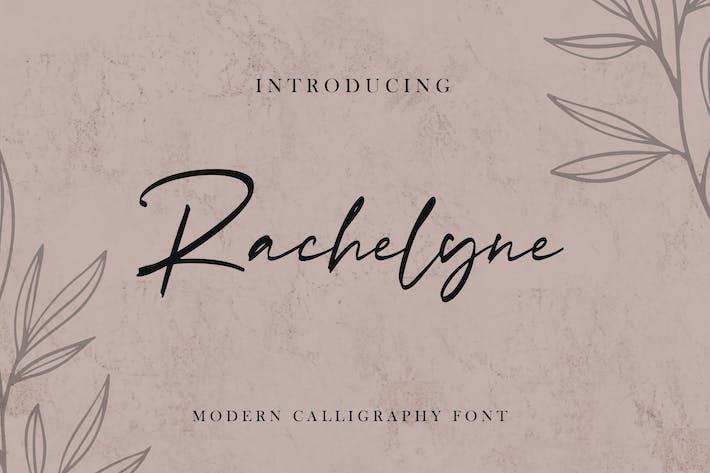 Thumbnail for Rachelyne - Modern Calligraphy Font