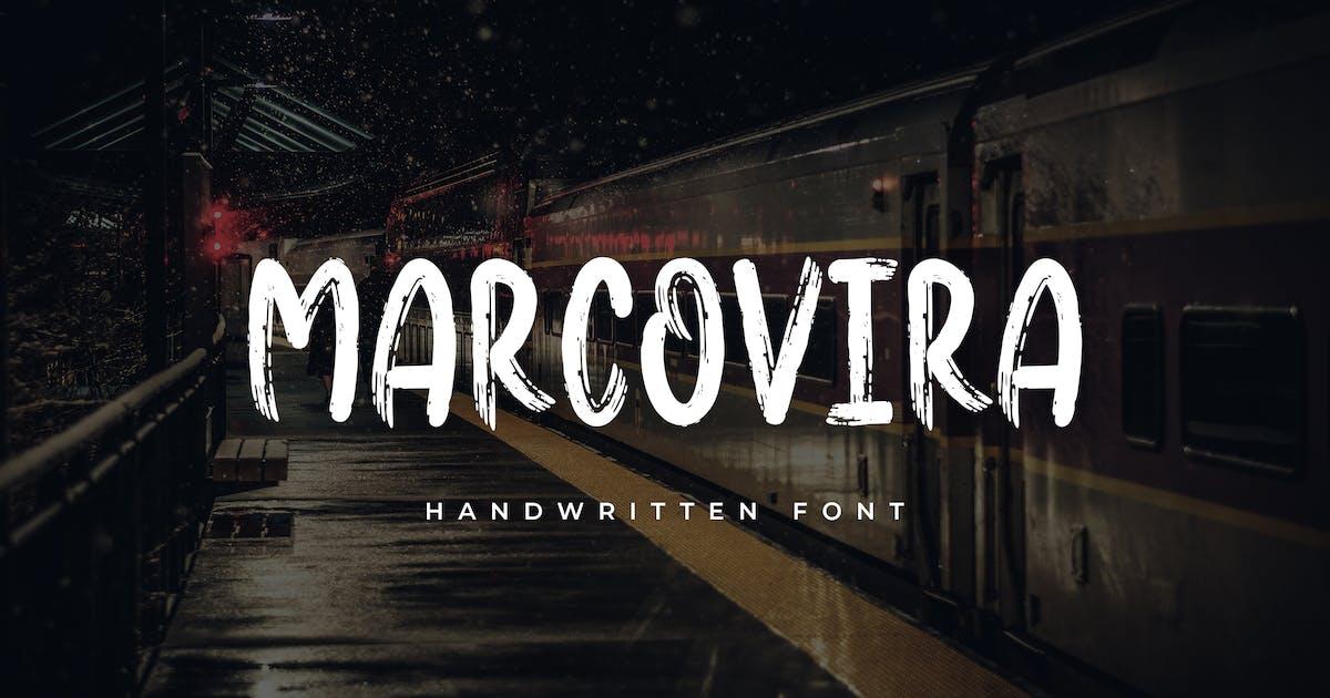 Download Marcovira Brush Font by uicreativenet