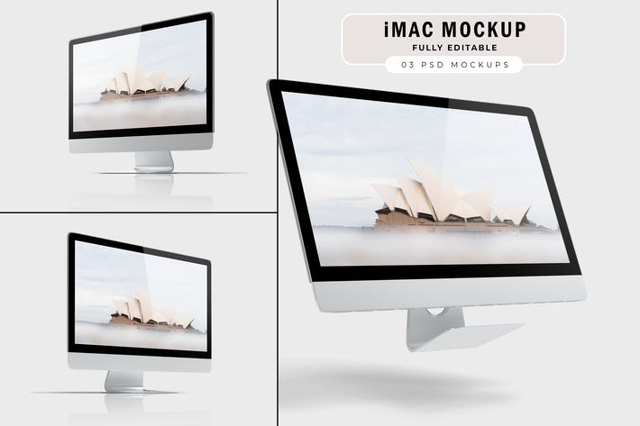 Thumbnail for iMac Mockup V.1