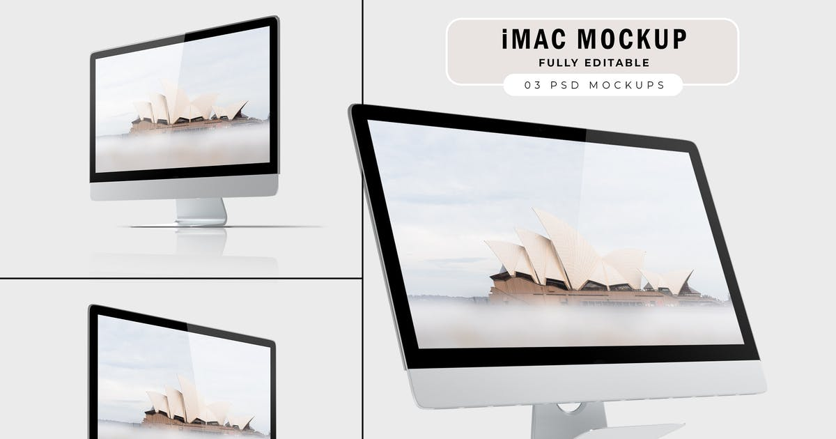 Download iMac Mockup V.1 by GraphicMonday