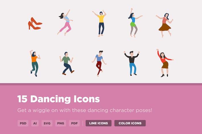 Thumbnail for 15 Dancing Icons