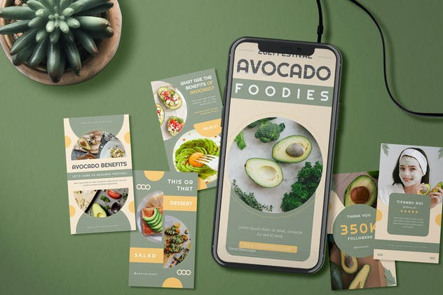 Avocado Foodies - Instagram Story
