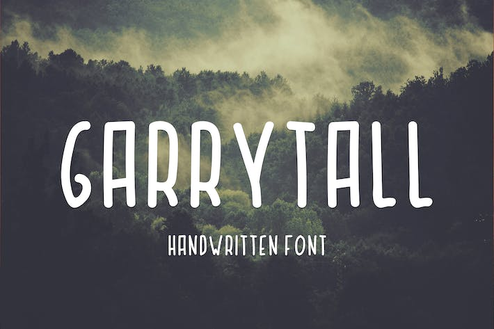 Thumbnail for Garry Tall Font