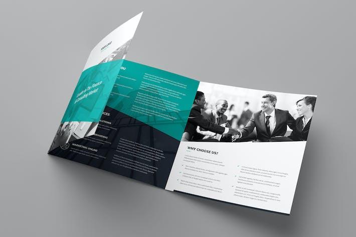 Thumbnail for Brochure – Corporate Tri-Fold Square