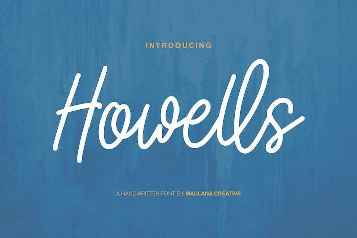 Thumbnail for Howells Script Font