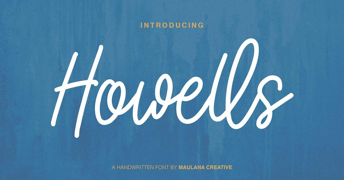 Download Howells Script Font by maulanacreative