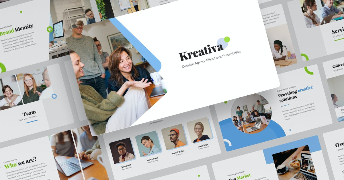 Download Kreativa - Creative Keynote Presentation by mhudaaa