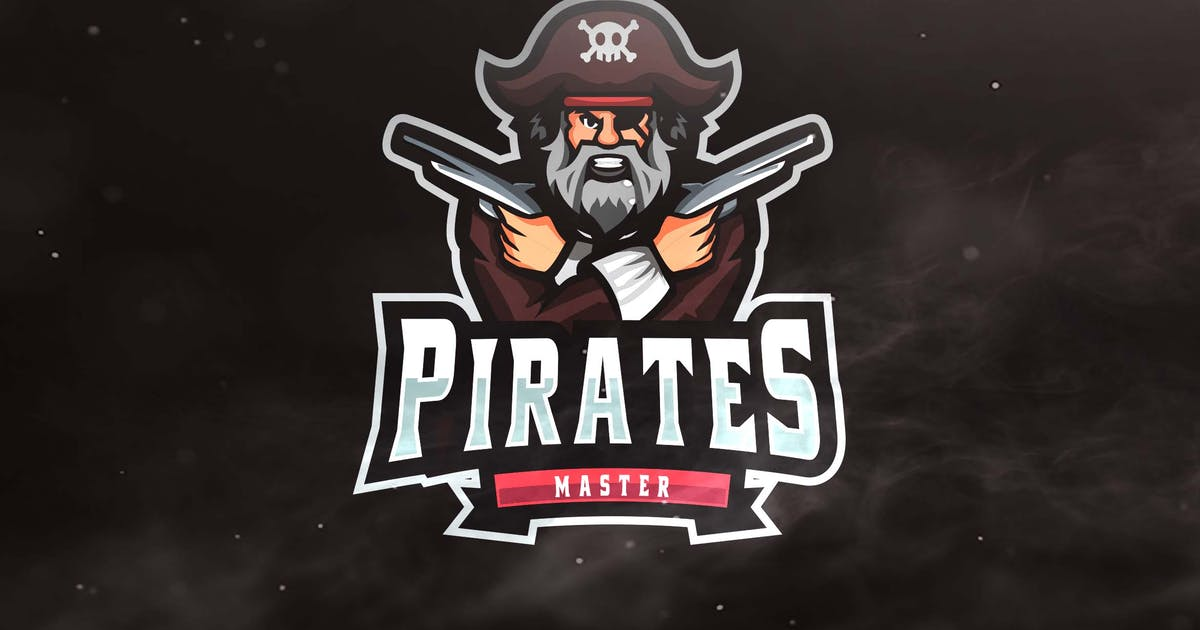 Download Pirate Master Sport and Esports Logo by ovozdigital