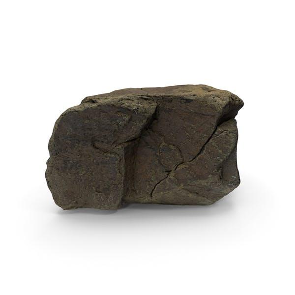 Scanned Mountain Rock