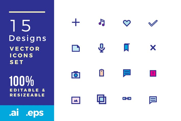 Thumbnail for 15 Design vector icons