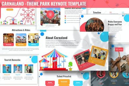 Карналанд - Шаблон Keynote ТеТема парка