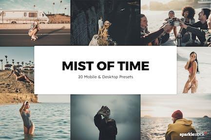 20 Mists of Time Lightroom Presets & LUTs