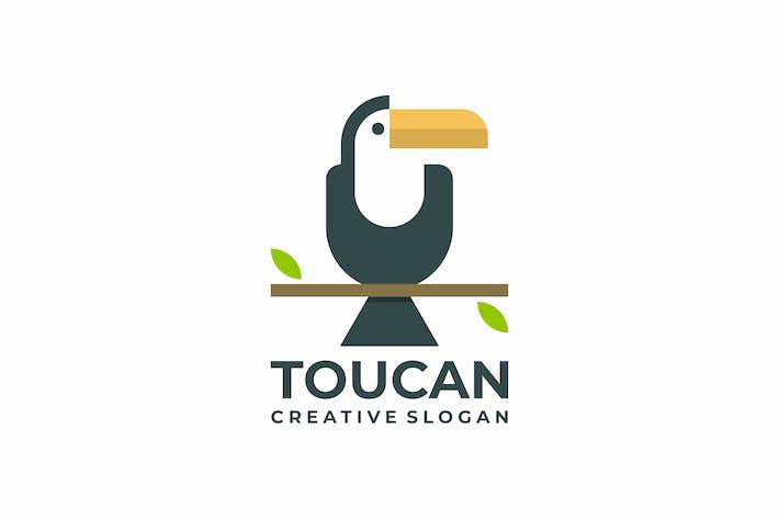 Thumbnail for Toucan Flat Creative Logo Template