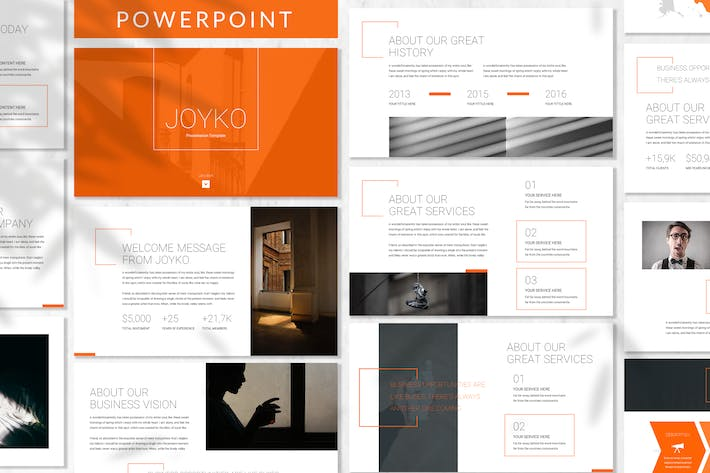 Thumbnail for Joyko - Business Powerpoint Template
