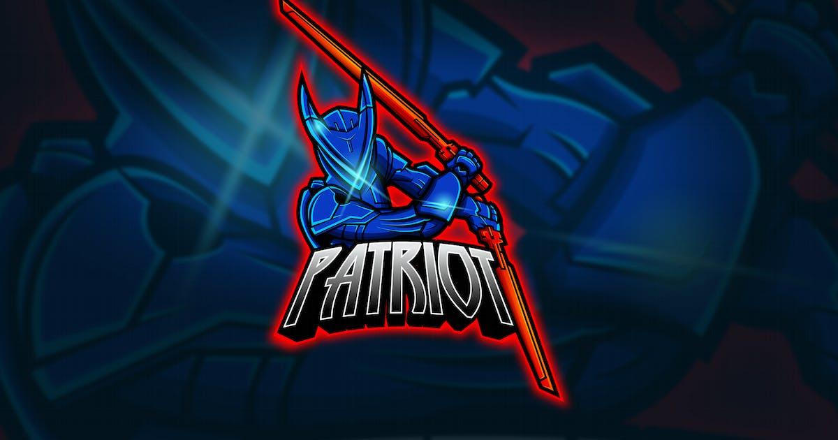 Download Patriot - Mascot & Esport Logo by aqrstudio