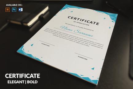 Decorative Multipurpose Certificates