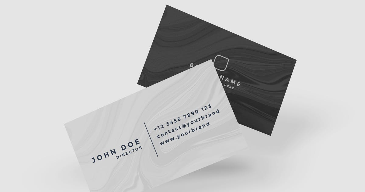 Download Business Card Product Mockup V.1 by IanMikraz