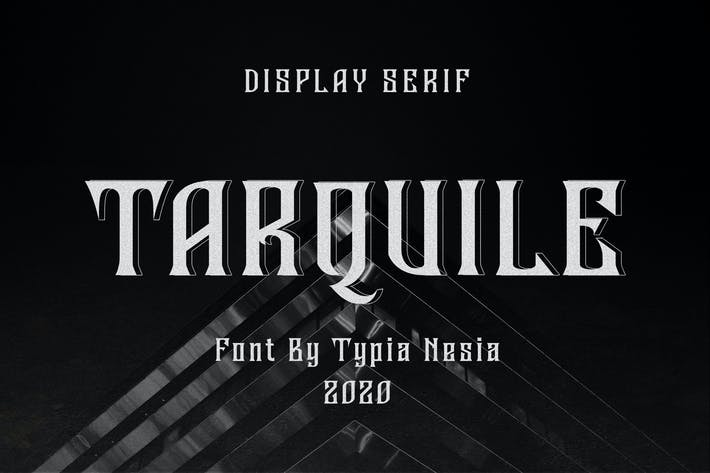 Thumbnail for Tarquile - Game Display Font