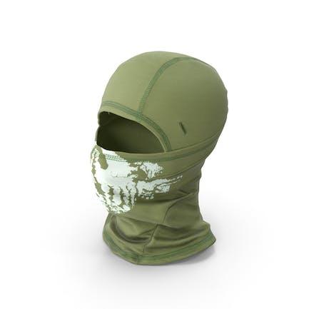 Balaclava-Maske grün