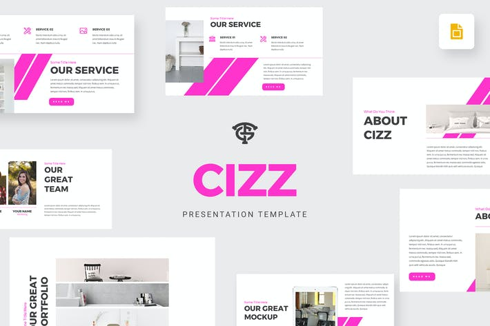 Thumbnail for Cizz Business - Google Slides