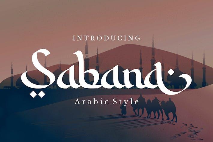Sabana - Arabic Font