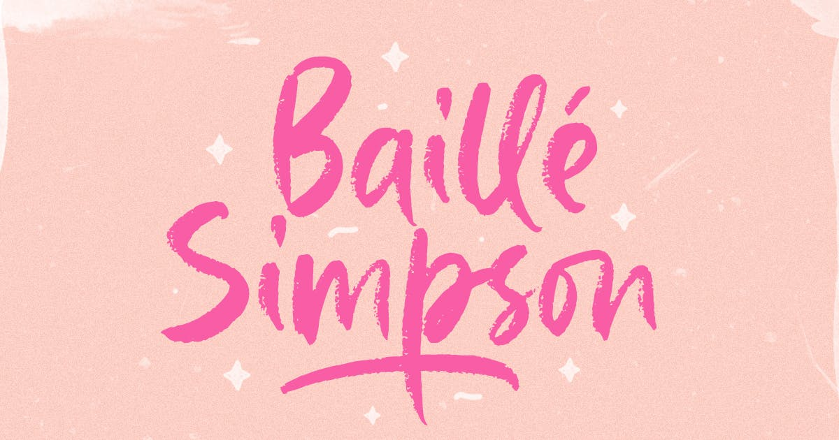 Download Baille Simpson - Modern Brush Script by letterhend