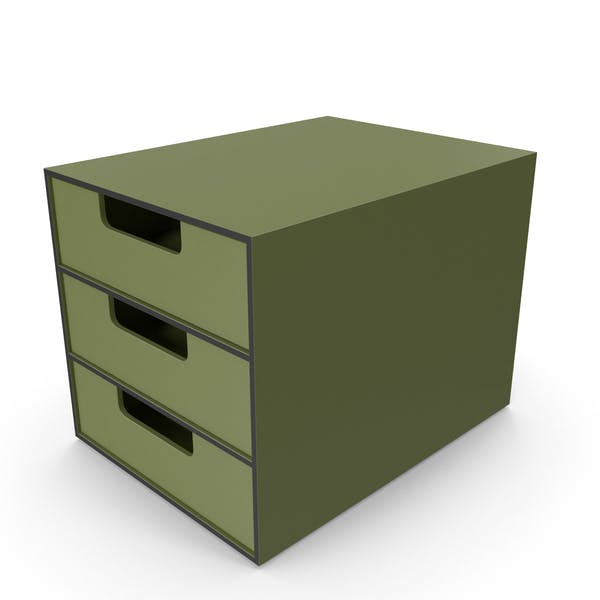 Office Drawer Green