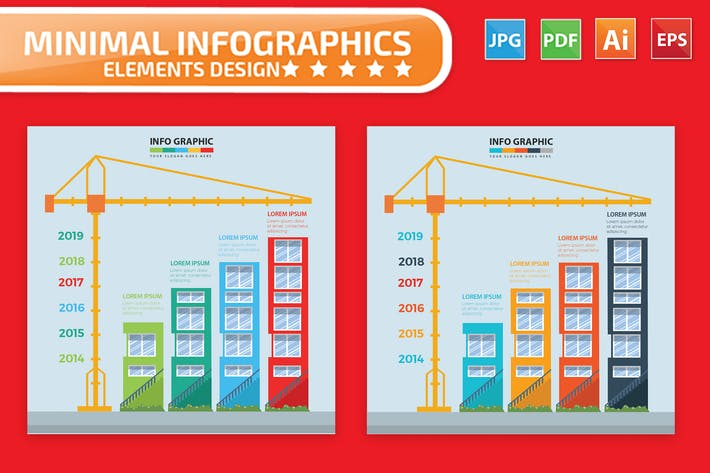 Thumbnail for Construction Infographic Design