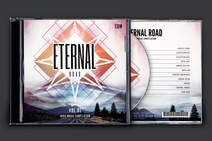 Thumbnail for Eternal Road CD Cover Artwork