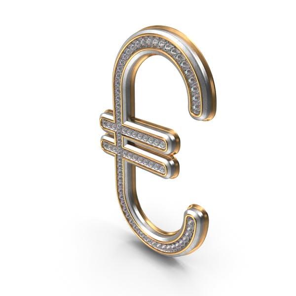 Bling Бриллианты символ евро