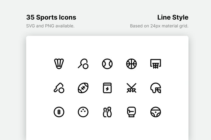 Sport-Line-Icons