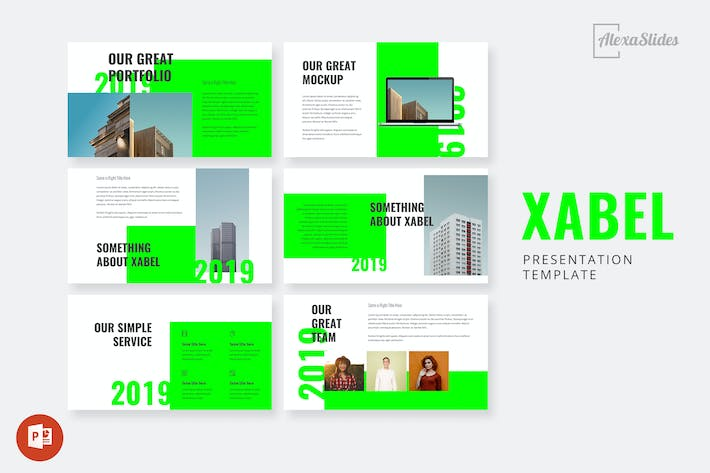 Thumbnail for Xabel - Powerpoint Presentation Template