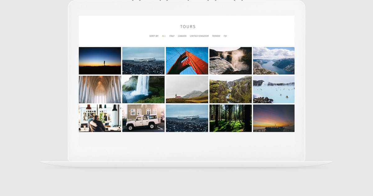 Odiss - Travel Booking Landing Page by vsart