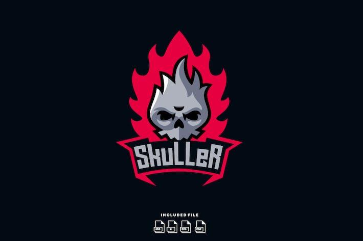 Thumbnail for Skuller Logo Design Template