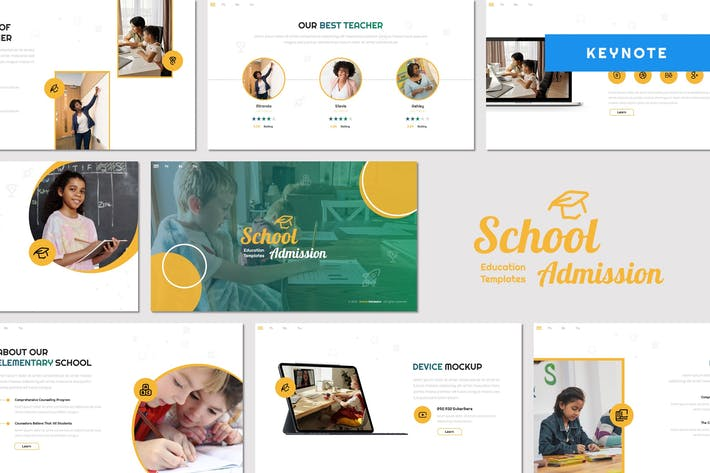 Thumbnail for School Admission - Education Keynote Template