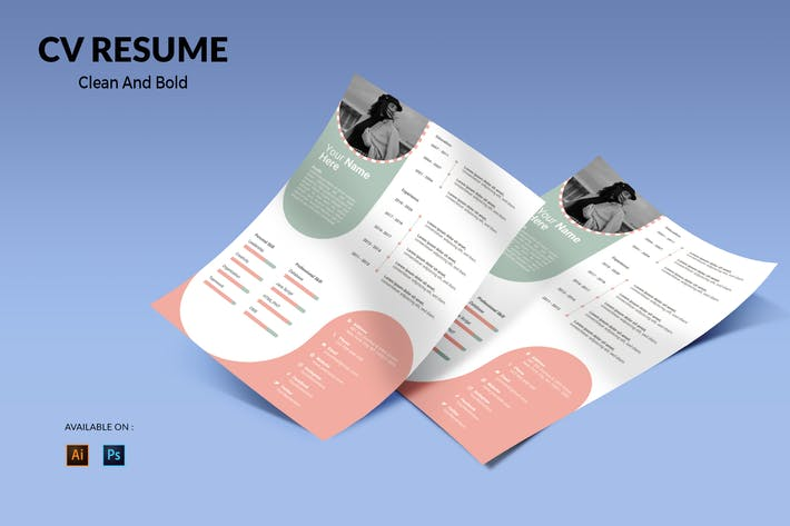 Thumbnail for CV Resume Simple And Dynamic