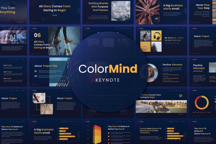 ColorMind Creative Keynote Presentation