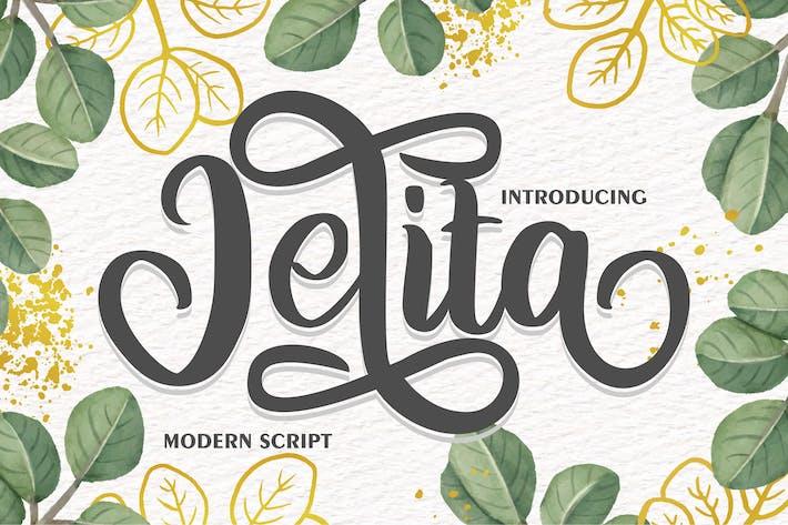 Thumbnail for Jelita | Modern Script