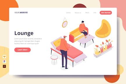 Lounge - Landing Page