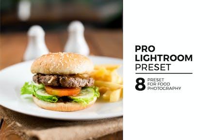 8 Pro Lightroom Preset for Food Photography
