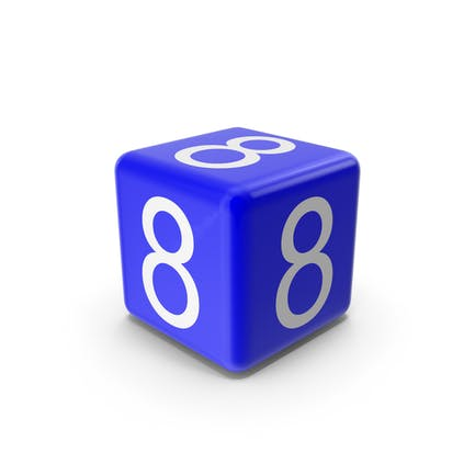 Blue 8 Block