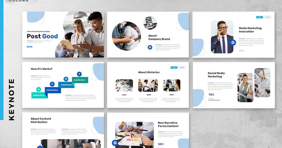 Download Social Media Marketing Strategy Keynote Slide by ukraine_studio