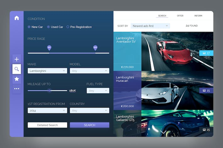 Thumbnail for Auto Market Dashboard
